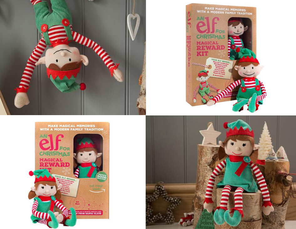 Trends: the magical 'Elf for Christmas' is this year's must have!