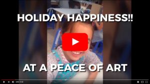 Holiday Happiness Child Art Workshop