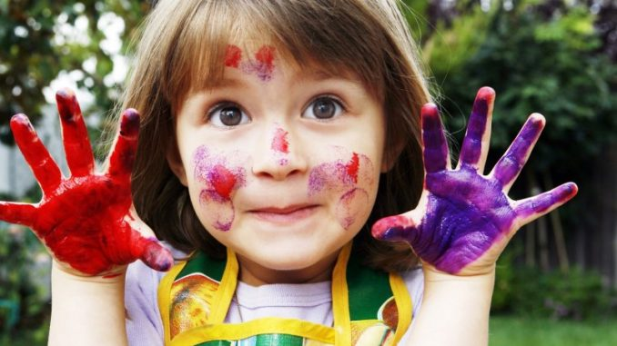 Doing creative activities with your child