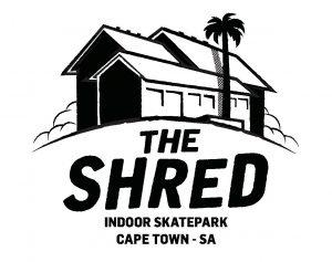 The Shred logo skate park