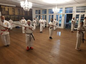 S&K Karate students