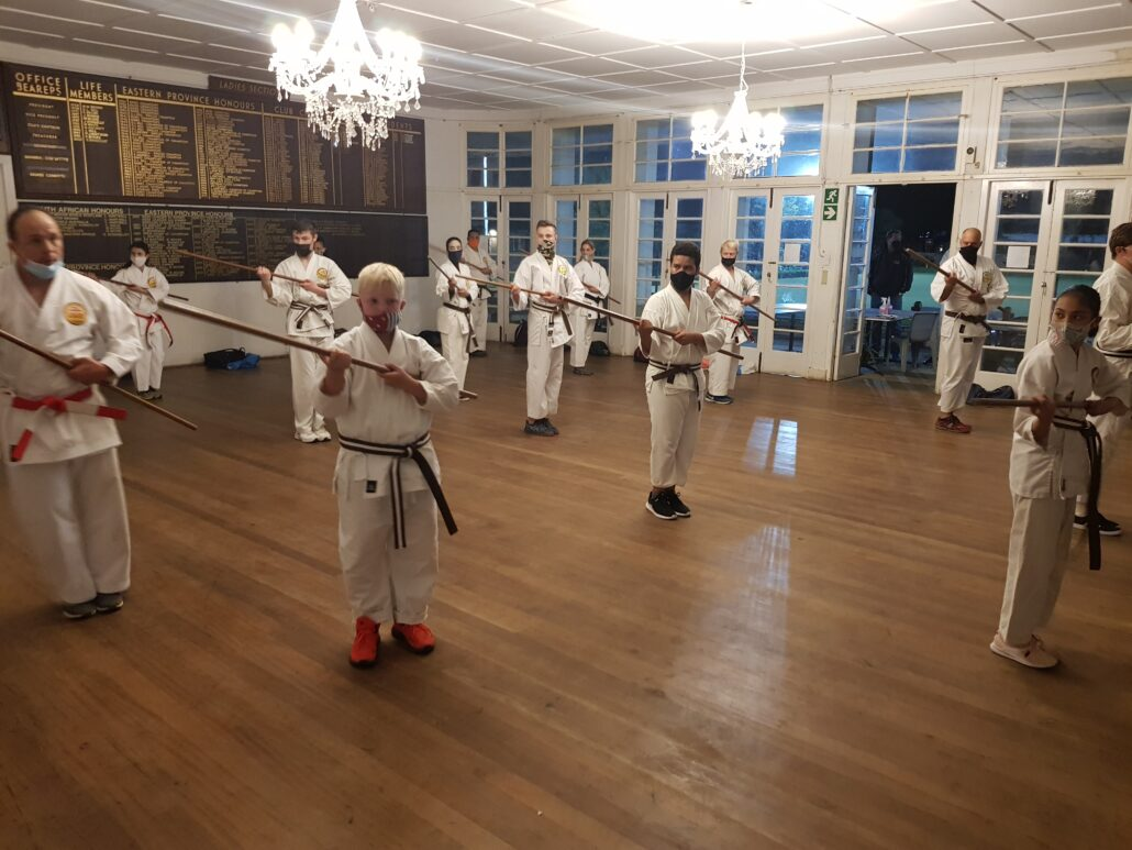 S&K Karate students